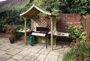 Party Garden Arbour / Barbecue Shelter